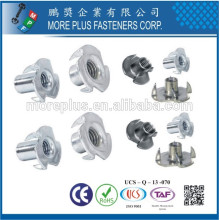 Made in Taiwan High Quality Aluminum M6 T Nut