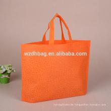 Massengroßhandel-preiswerte Lebensmittelgeschäft-Einkaufstasche-nicht gesponnener kundenspezifischer Druck von China-Hersteller