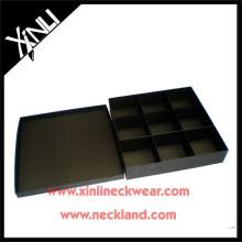 Boîte faite sur commande de papier fait sur commande d'usine de cravate