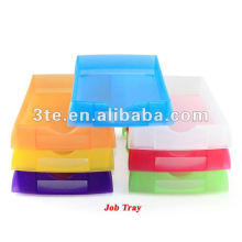 Bandeja de trabajo óptica de plástico Bandeja de laboratorio con calidad superior