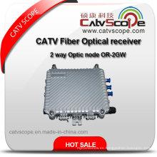 Receptor óptico de la fibra de CATV / nodo óptico de 2 maneras o-2gw