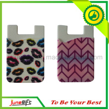 Custom Mobile Phone Pocket Silicone
