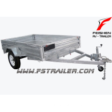 Hot sale!! hot dipped galvanized box trailer/car trailer