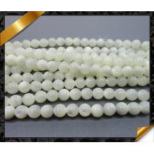Natural blanco joyería shell suelta grano Suply (aps037)
