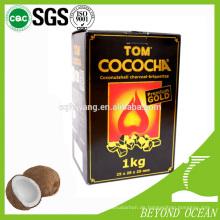 neueste 100% Kokosnusswürfel Kohle für Shisha