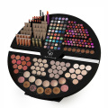 Custom store table cardboard makeup counter display stand
