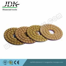 Tampon de polissage de plancher pour le polissage de granit et de marbre