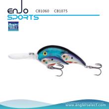 Angler Select Fish Fish Глубоководные приманки для рыбалки с крючками Bkk Treble (CB1060)