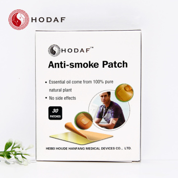 Patch anti-tabac à base de plantes naturelles à base de plantes