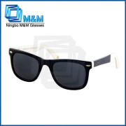 Nylon TR One Color Lens 2015 New Wholesale Fashion Acetate Sunglasses