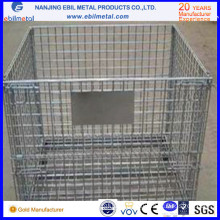 High Quality Customizable Foldable Wire Mesh Container