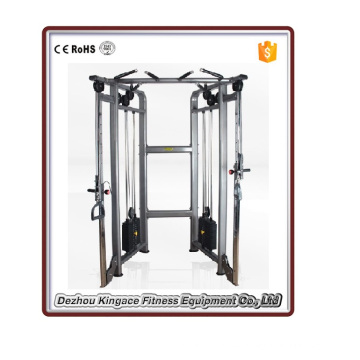 Equipo de gimnasio comercial Máquina de polea doble ajustable