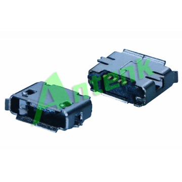마이크로 USB SMT 5F RECEPTACLE AB TYPE