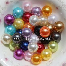 Factory Price for acrylic opaque round beads ABS plastic Round Pearl Beads Faux Imitation Jewelry Pearl in Bulk supply to Morocco Factories