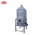 Torre de enfriamiento con criba tamizadora para alimentación