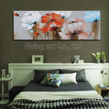 Abstract Flower Painting for Home Decoration