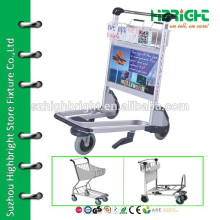 airport baggage trolleys