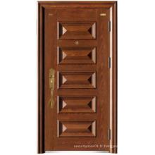 Horizontal Six Panel Steel Security Door