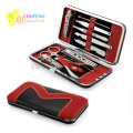 10 PCS Pedicure / Manicure Set Nail Clippers Cleaner Cuticle Grooming Kit Case