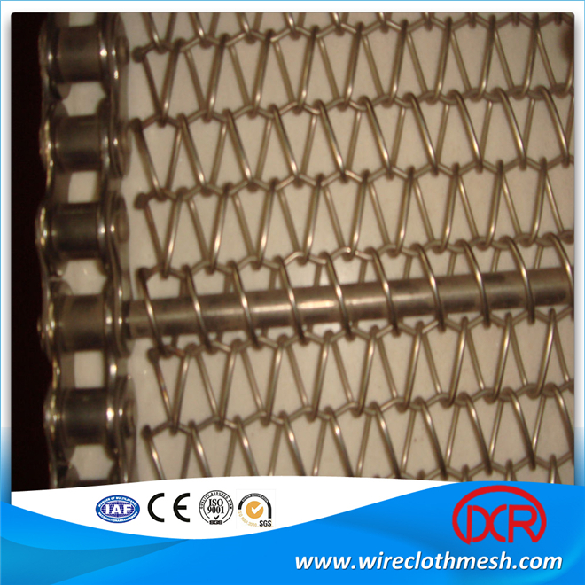 Metal Wire Conveyor Belt For Food Processing