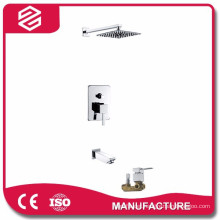 in wall shower sets wall-mounted hidden shower set