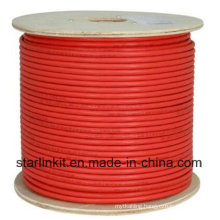 High End CAT6A UTP LAN Cable 10 Gigabit Red