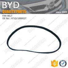 OE BYD f3 repuestos ventilador correa 471Q-1000027