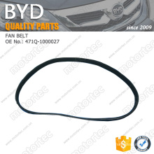OE BYD f3 spare Parts fan belt 471Q-1000027