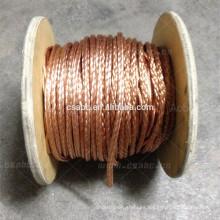 cable de conducción flexible de cepillo de cobre