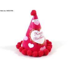 Brinquedos de papel feliz aniversário chapéu para crianças
