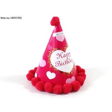 Papel feliz cumpleaños sombrero juguetes para niños