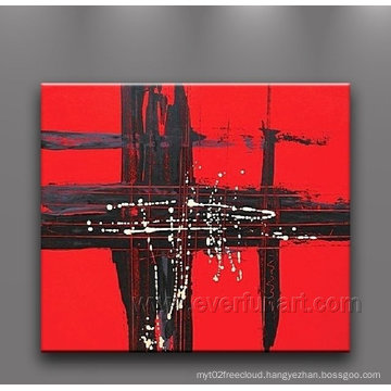 100% Hand-Painted Huge Abstract Painting on Canvas for Home Decoration (XD1-055)