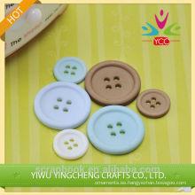Lujo personalizado clásico plástico plástico botón