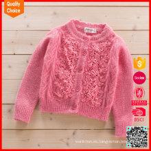 Suéter personalizado lindo de la ropa del bebé del nuevo diseño