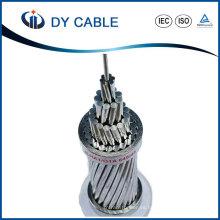 Cable de ACSR reforzado acero del conductor de aluminio de la línea de transmisión de arriba