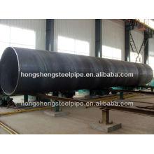 EN10025-3 S355ML Q345E de diâmetro grande de carbono soldado tubo de aço / tubo
