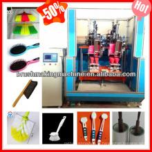 máquina de alta velocidade da escova / vassoura do cnc que faz a máquina / que adorna a máquina