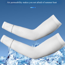 Hot Sale Anti-Ultraviolet Cool Arm Guard Sleeves Outdoor Riding Ice Silk Sleeves Sunscreen Ice Sleeves