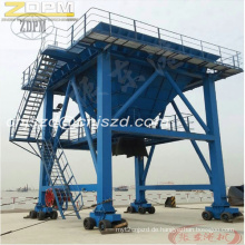 Mobile-Port Hopper - Dust Collector Hopper Track Orbit Maschinentyp