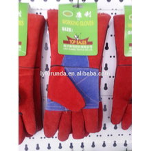 Pigskin leather working gloves,driver gloves/AB grade
