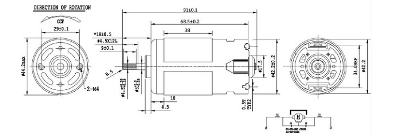 Meaning Of Dc Motor