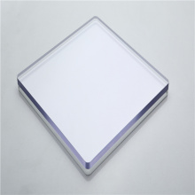 Clear polycarbonate solid sheet polycarbonate panel