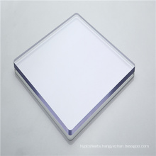 Clear polycarbonate solid sheet plastic panel