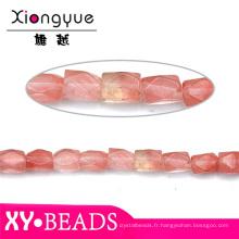 Trouver rouges naturels Perles Pierre bon marchés en ligne de bijoux à 2015
