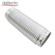 HVAC Aluminum Semi Rigid Air Duct Flexible Duct with Connectors