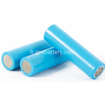 3.7V 2200mAh taille 18650 Li-ion Battery Cell