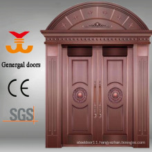 Copper doors luxury to fronts houses