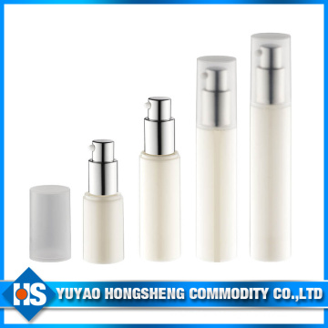 40ml Wholesale White Flat Bottle with Airless Pump in China