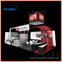 Shanghai expo booth contractor rental or hair trade show tent and contract stand exposition