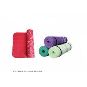 NBR printed exercise mat